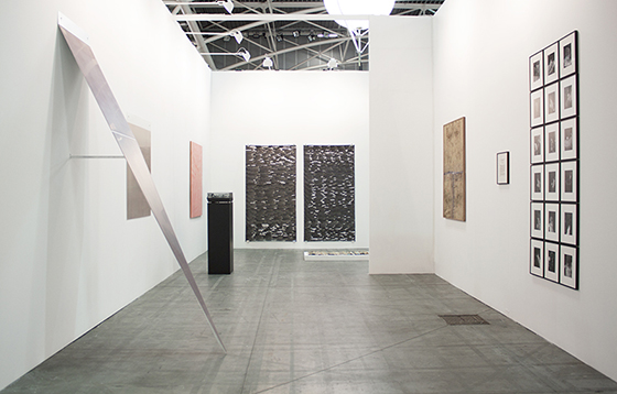 Belenius/Nordenhake at Artissima 2014